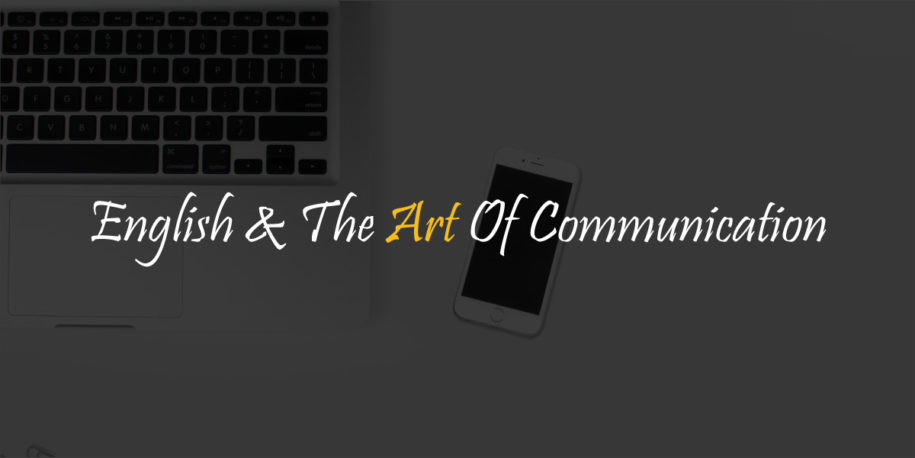 English & the art of communication